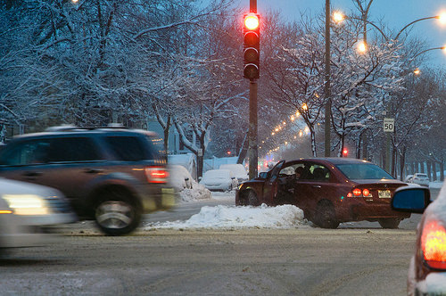 Driving safely in Iowa's winters takes practice